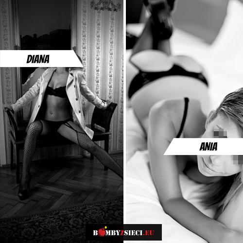 Czarno na białym: Diana VS Ania