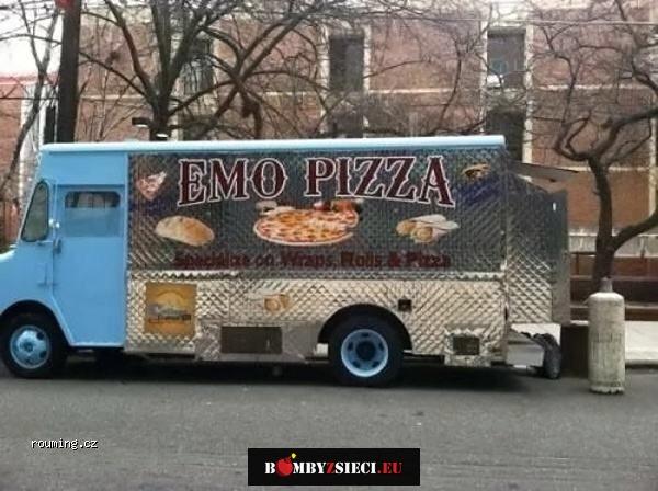 Pizza, która tnie się sama…