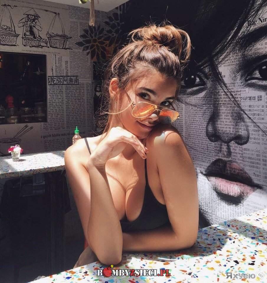 W okularach